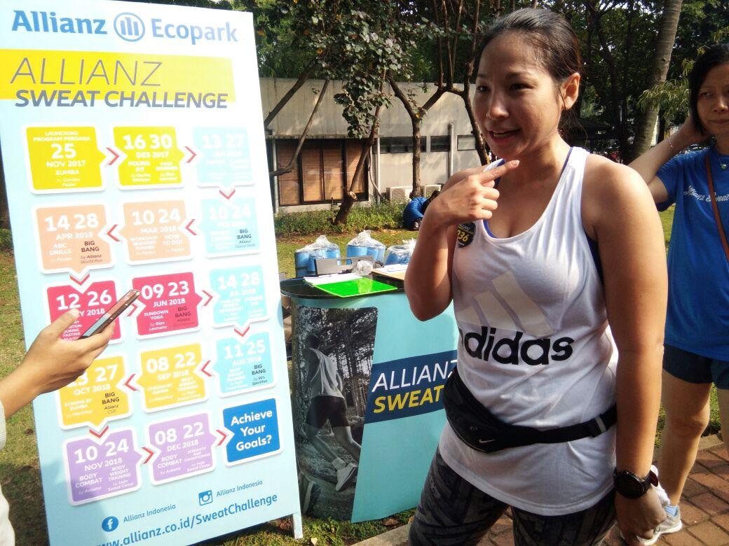 allianz sweat challenge 1