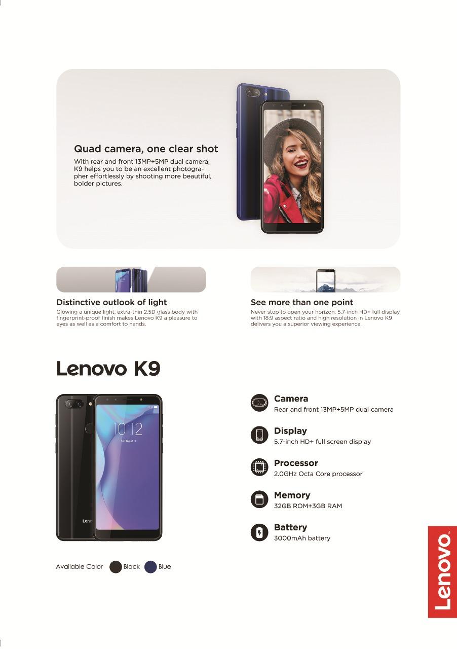 Lenovo K9