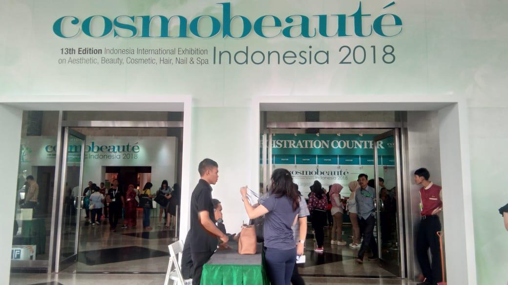 mazaya di cosmobeaute indonesia