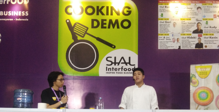 Cooking Demo bersama Chef Revo