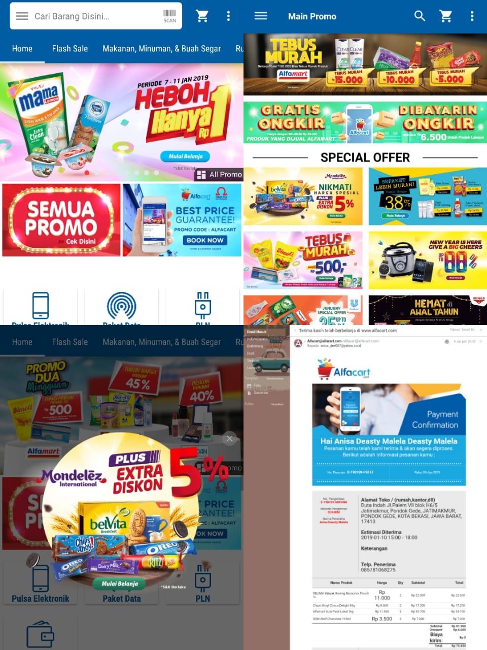 Belanja online di Alfacart