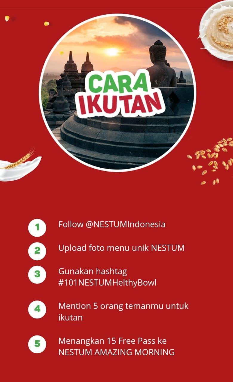 Kompetisi NESTUM 101 Healthy Bowls