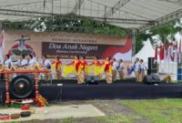 """Acara Kenduri Nusantara """"Doa Anak Negeri"""" di Kota Solo."""
