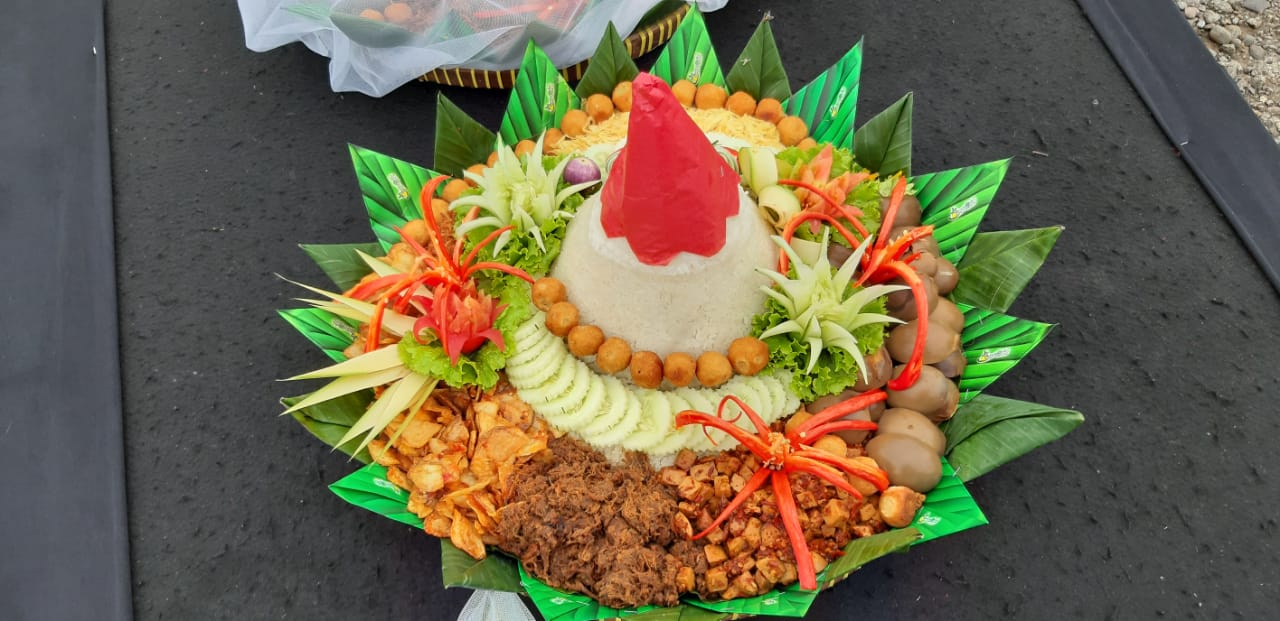 Hidangan di Kenduri Nusantara di Kota Solo