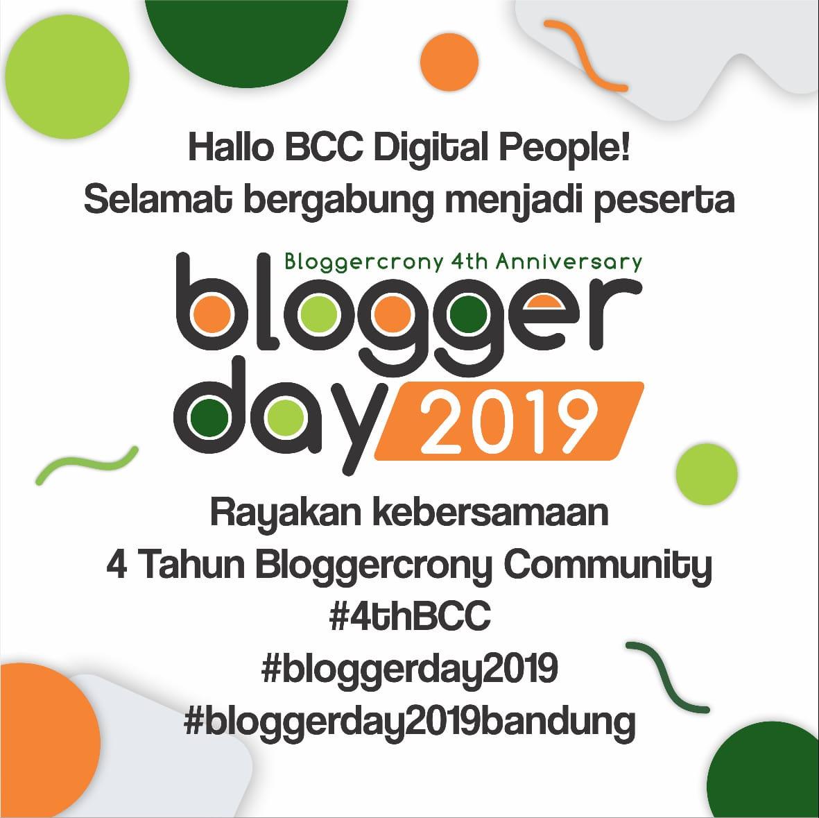BloggerDay 2019