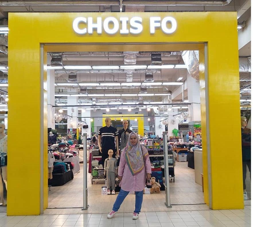 Baju branded murah di Chois