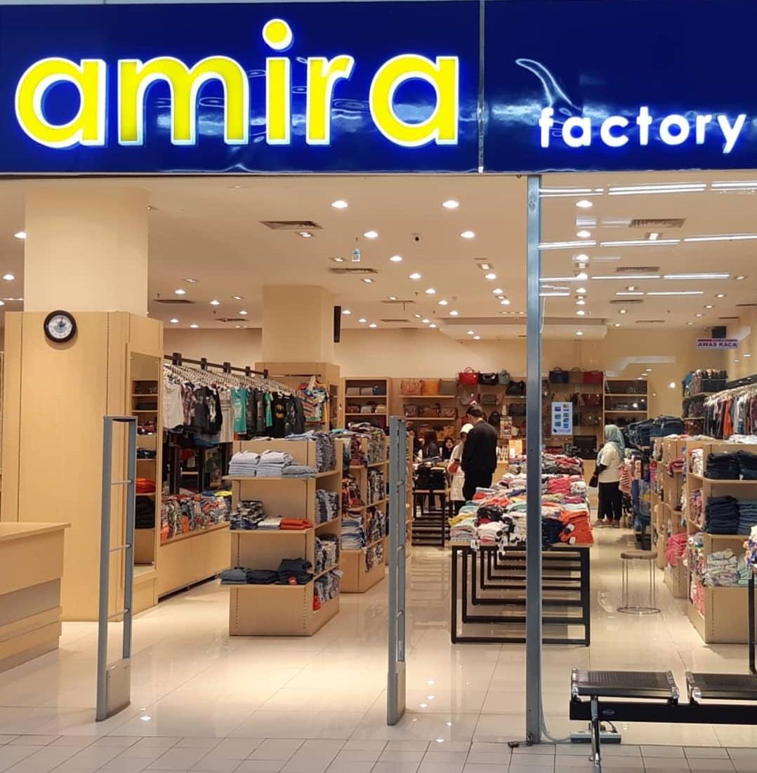 Baju branded murah di Amira