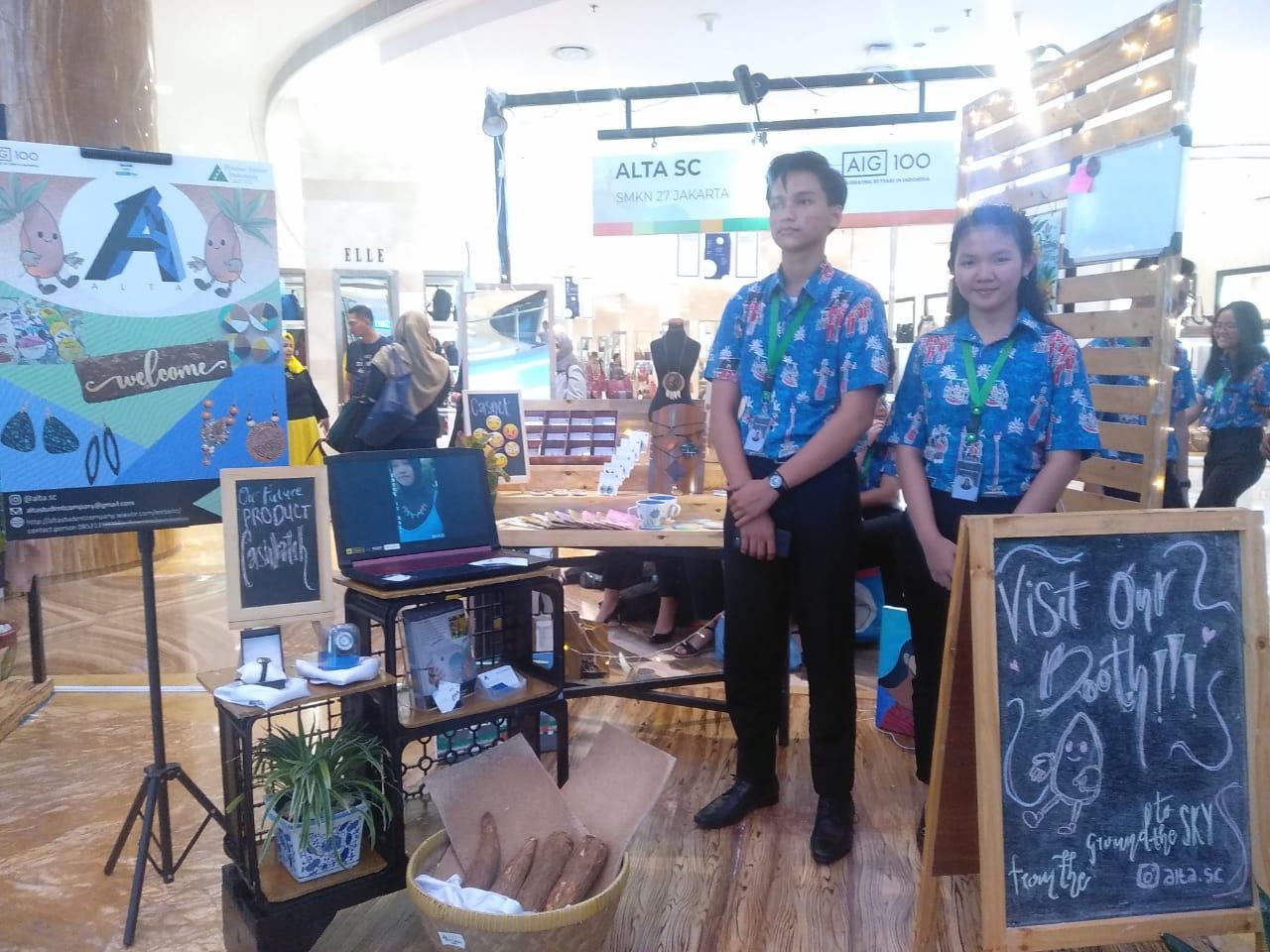 Perusahaan siswa SMKN 27 Jakarta