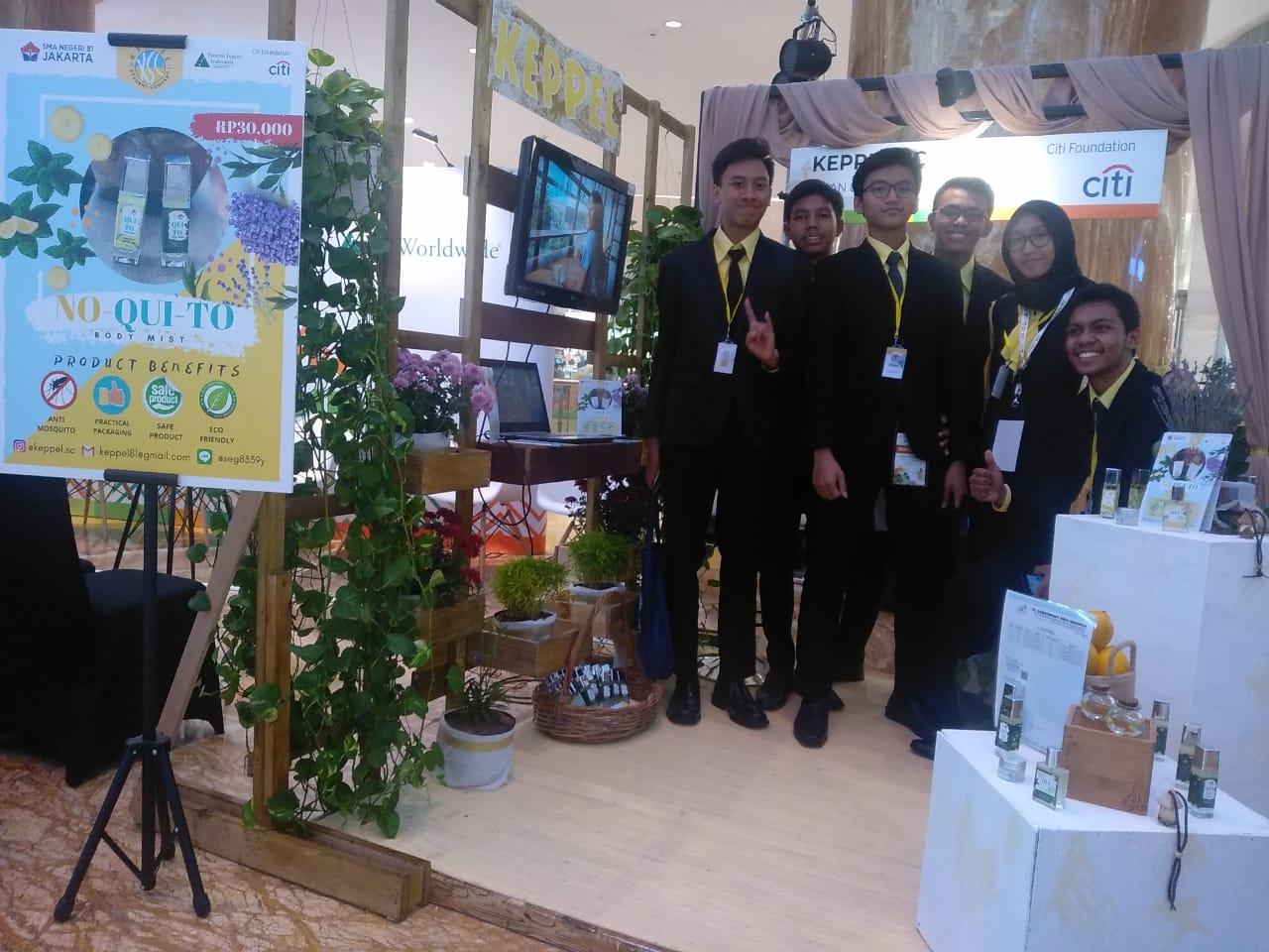 Perusahaan siswa SMAN 81 Jakarta