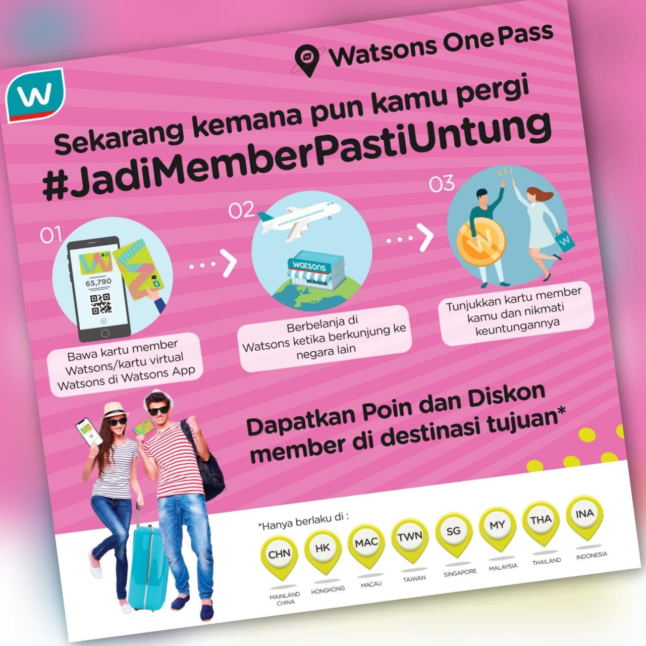 Watsons One Pass
