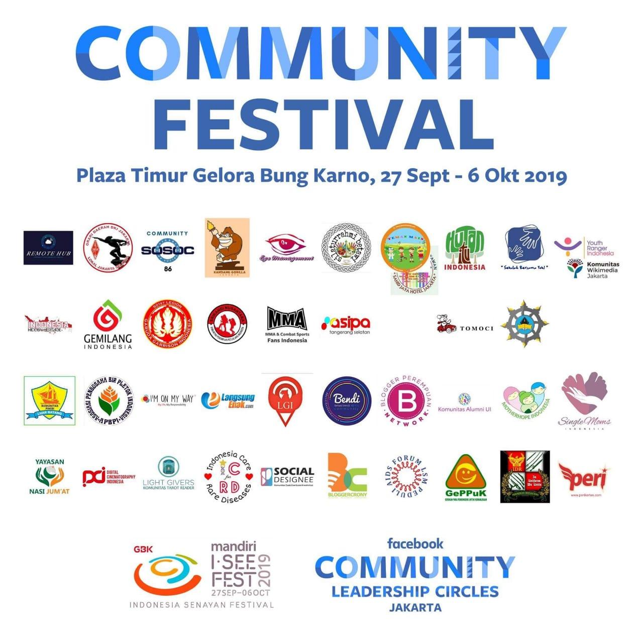 I See Fest 2019 bersama komunitas