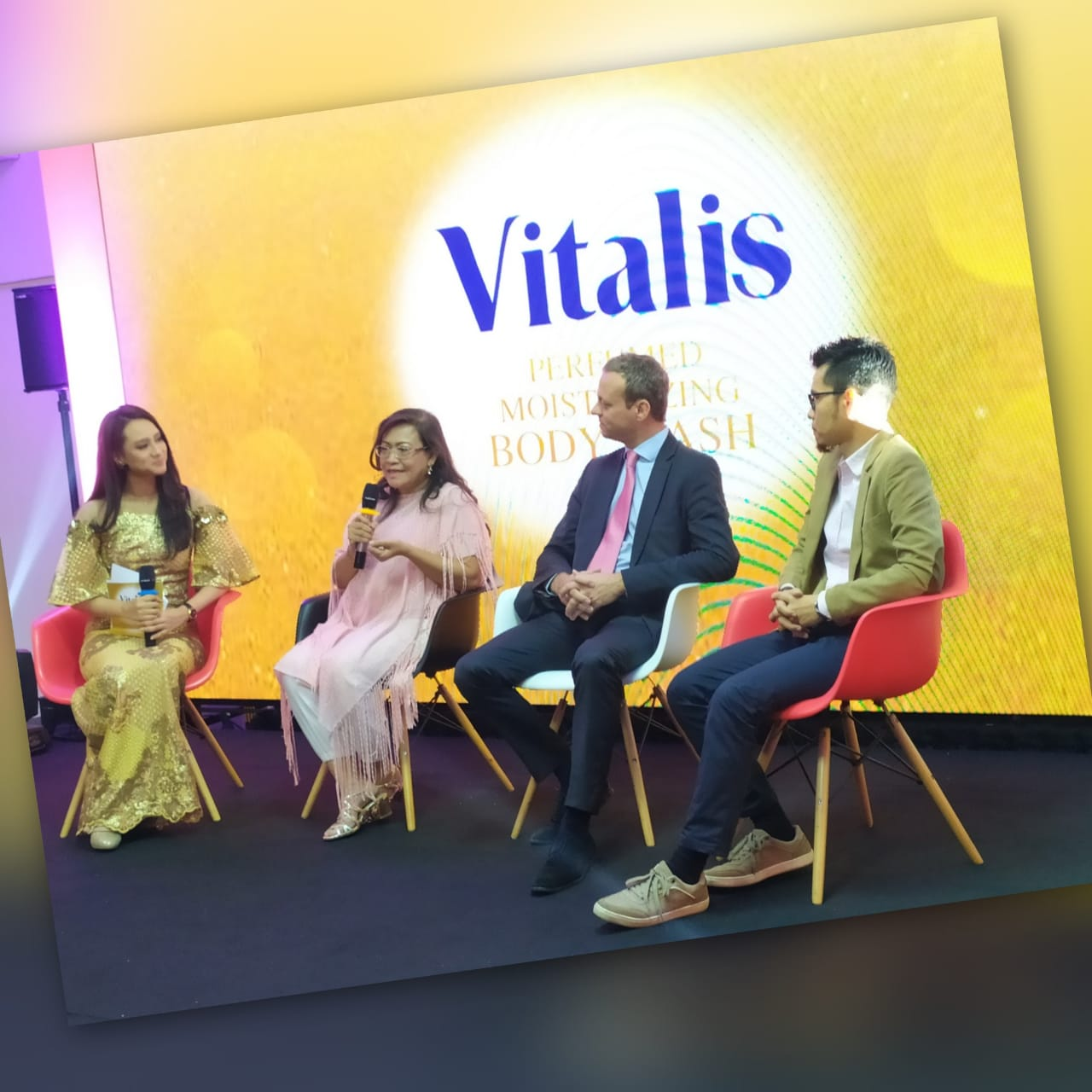 Launching Vitalis Perfumed Body Wash