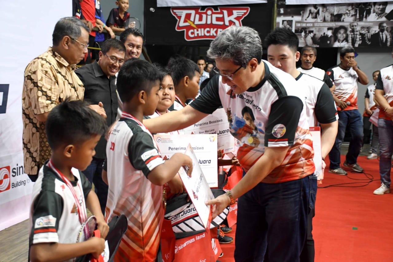 Lolos audisi bulutangkis SML Mencari Juara