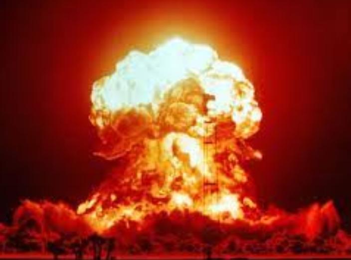 akibat reaksi nuklir