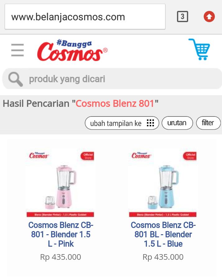 Blender Cosmos