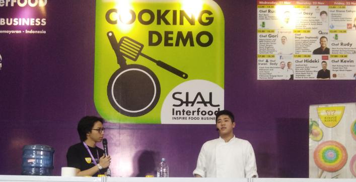 Cooking Demo bersama Chef Revo