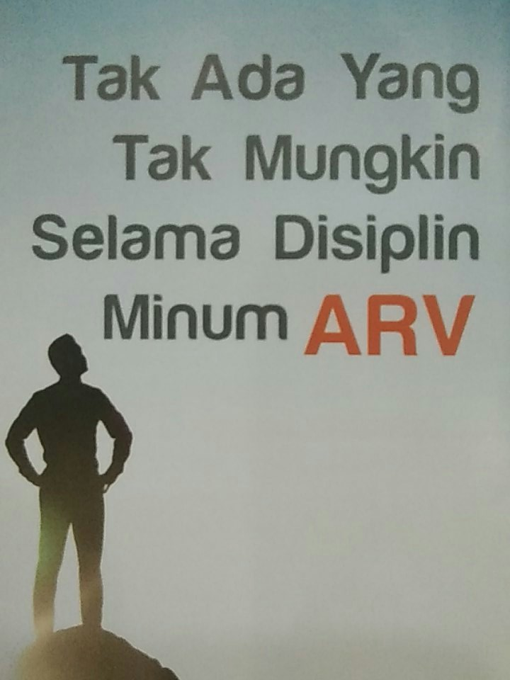 Disiplin minum ARV