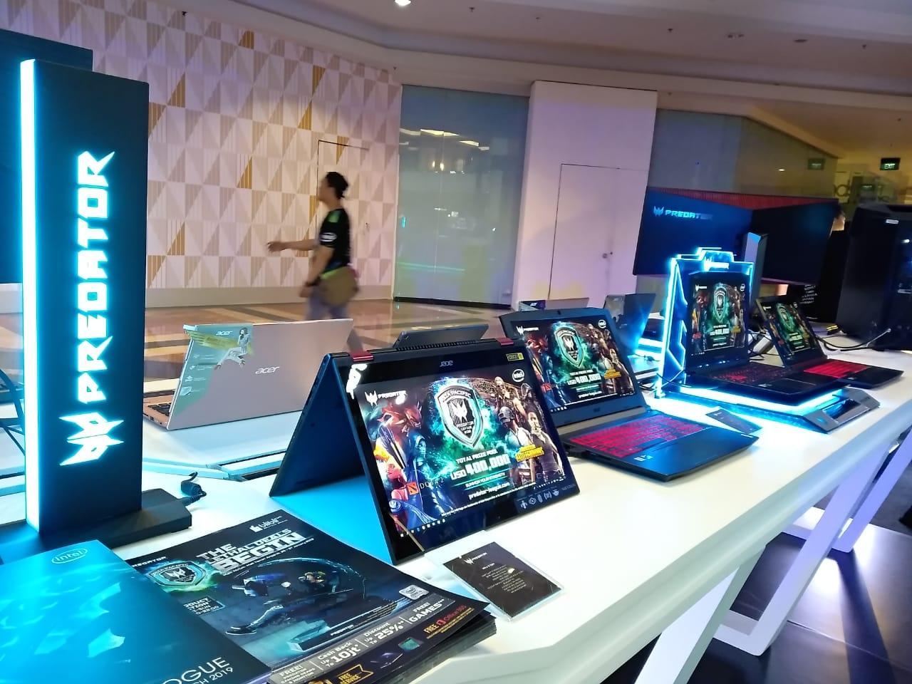 Perangkat keras Acer yang mendukung para gamers menjadi juara.
