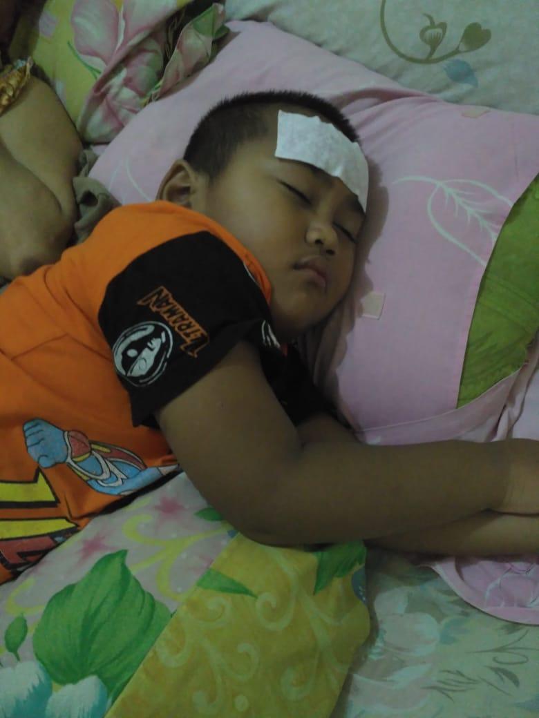 Anak yang sakit karena pancaroba akan membuat kita merasa sedih.
