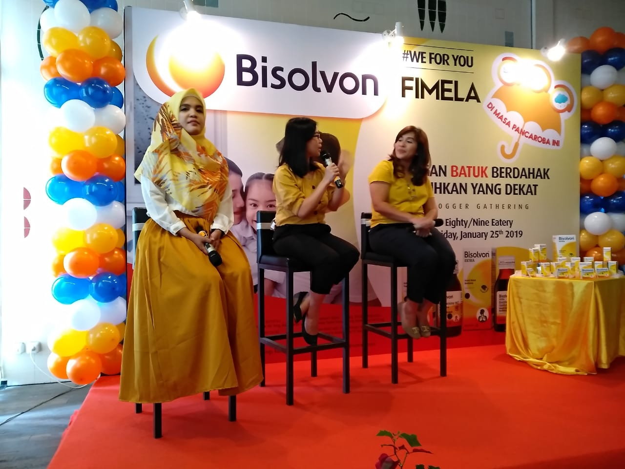 Blogger Gathering dengan Bisolvon