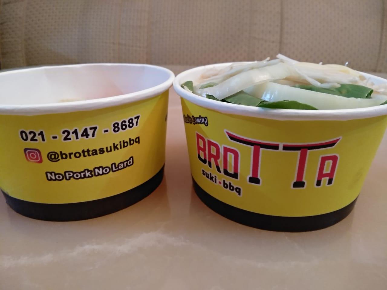 Paket take away Brotta Suki BBQ
