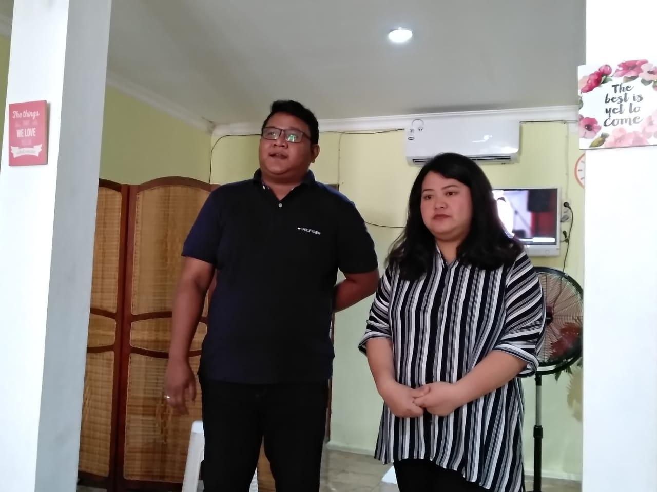 Febri dan Riri, owner dari Brotta Suki BBQ