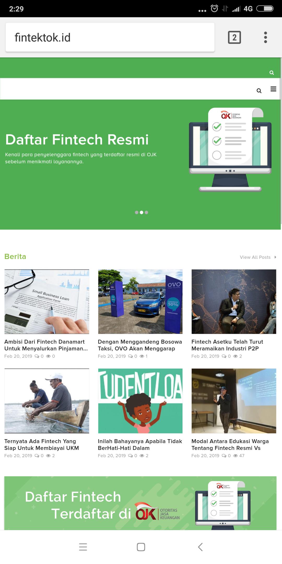 Cari tahu mengenai fintech di Fintektok.id