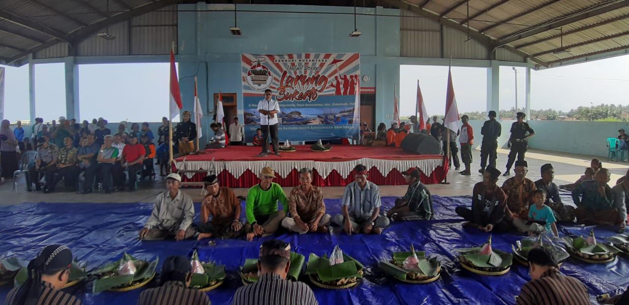 Kenduri Nusantara Umbul Donga Larung Sukerto di Kota Pati.