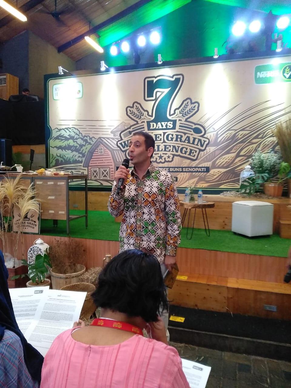Alaa Shaaban, perwakilan Nestle