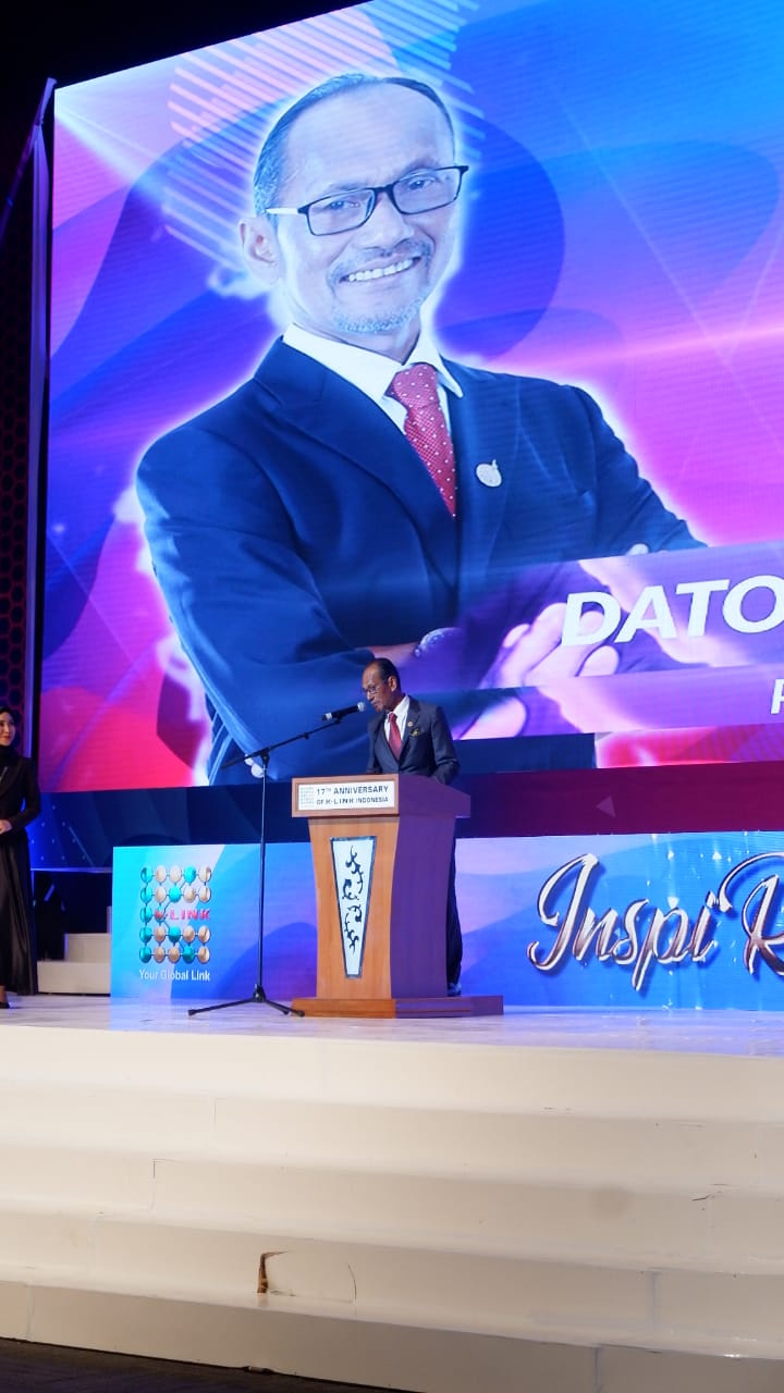 Dato Radzi Saleh, Presiden Direktur K-Link Indonesia