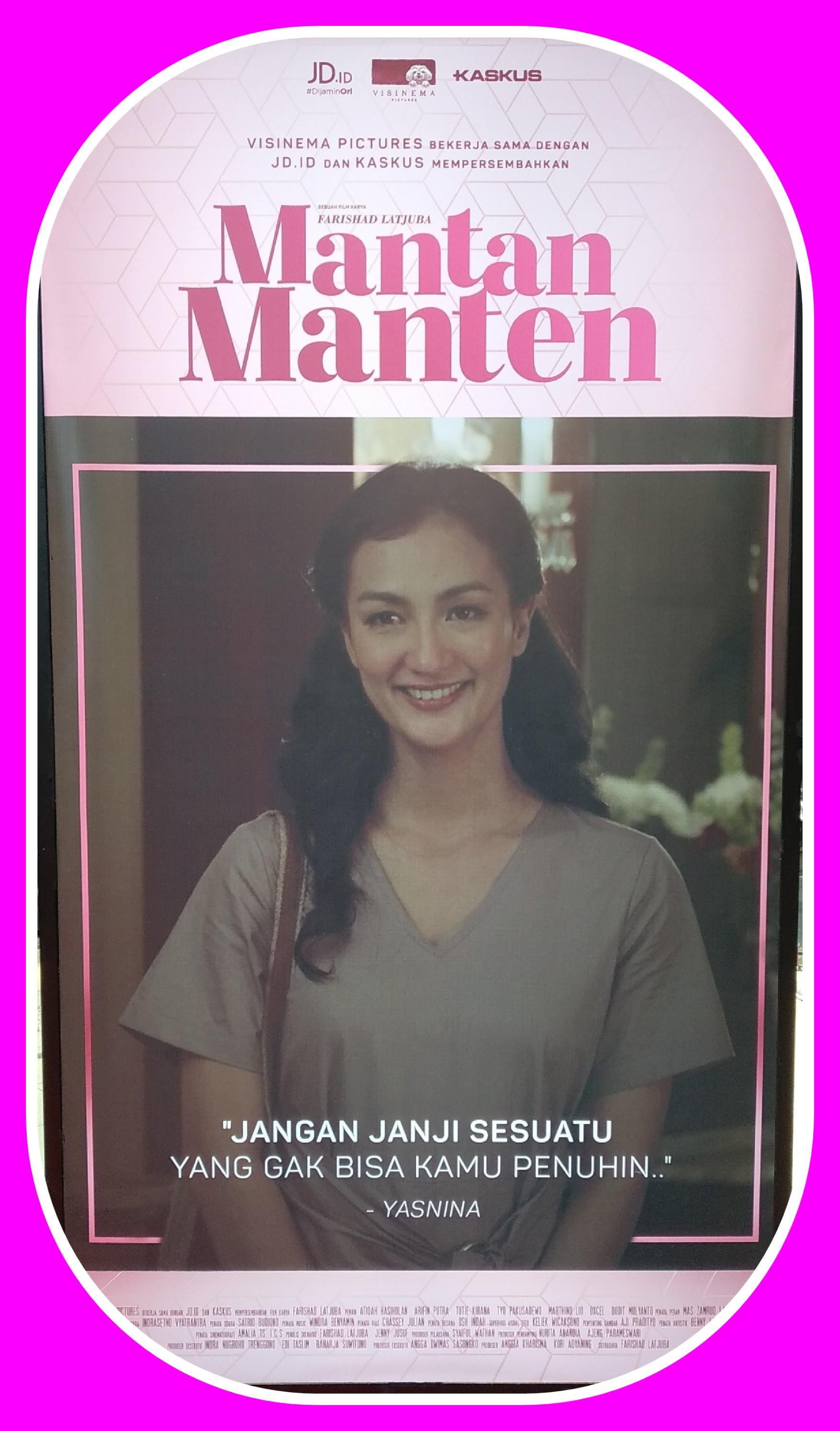 Film terbaru Atiqah Hasiholan, Mantan Manten