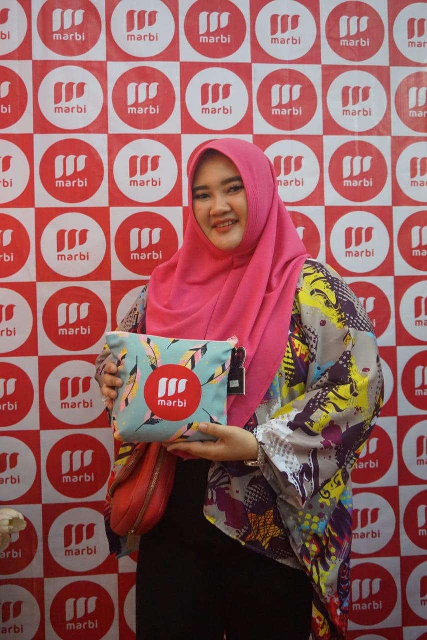 Marbi meluncurkan Hijab instan untuk pipi tembem.