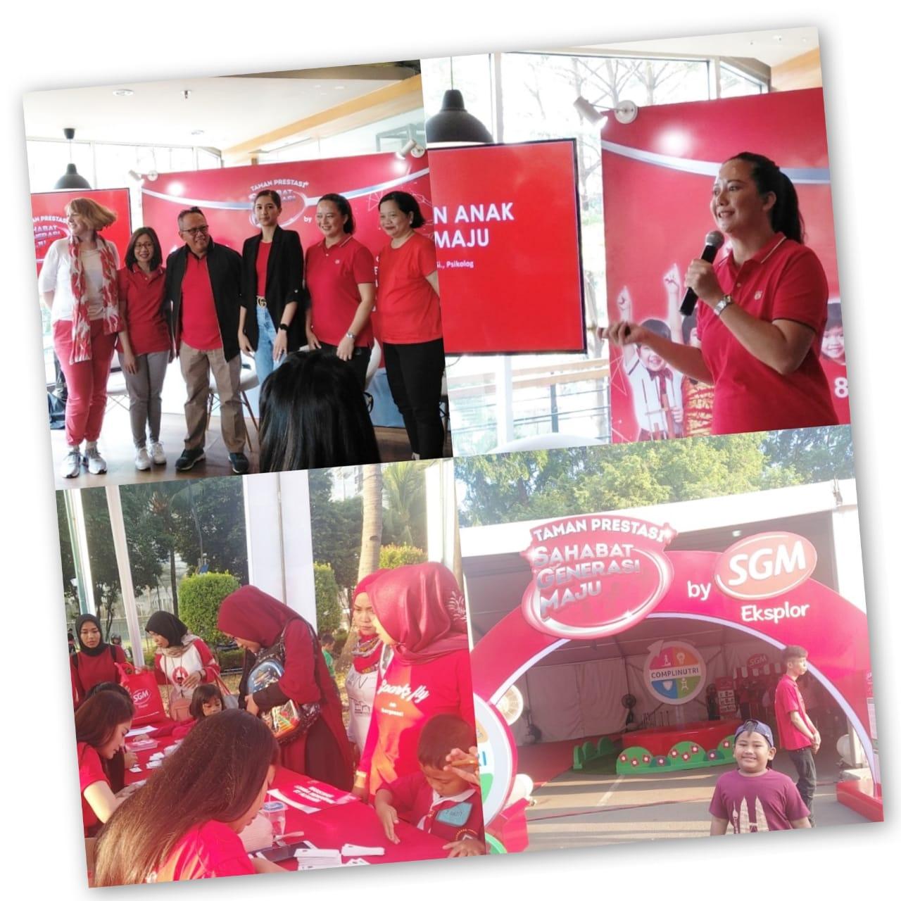 Hari Anak Nasional bersama SGM Eksplor