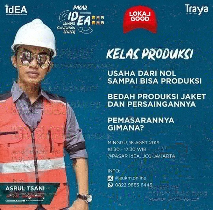 Workshop di Pasar IdEA 2019