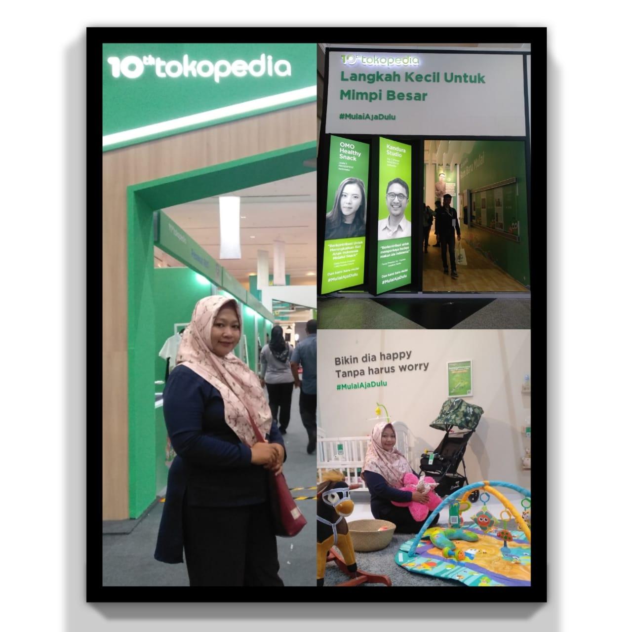 Tokopedia sponsor Pasar IdEA