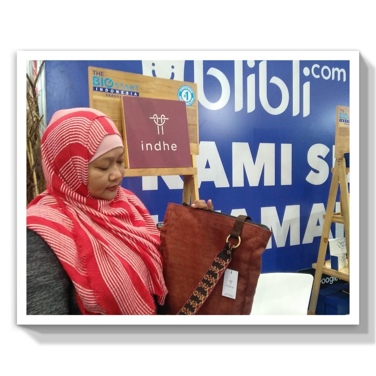 Banyak produk UMKM yang di pamerkan di Pasar IdEA