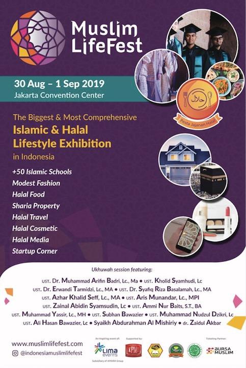 Indonesia Muslim Lifestyle Festival di JCC
