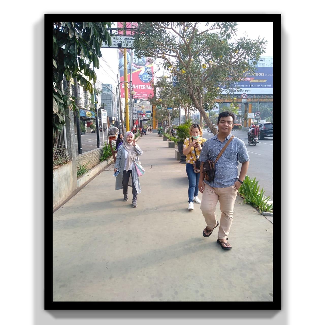 fasilitas bagi pejalan kaki
