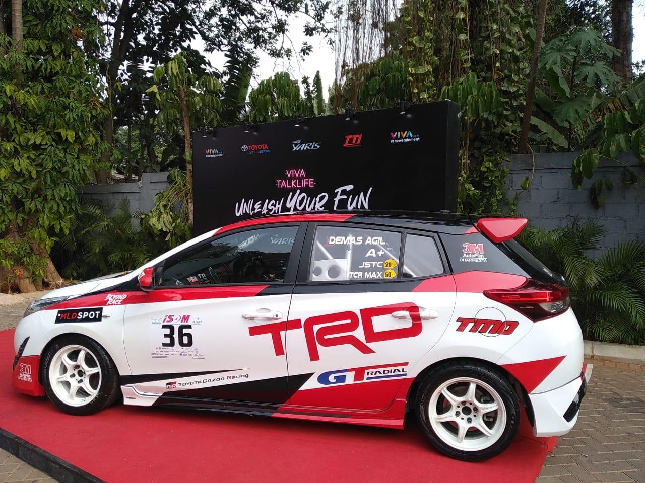 Toyota Yaris bisa dibawa balapan
