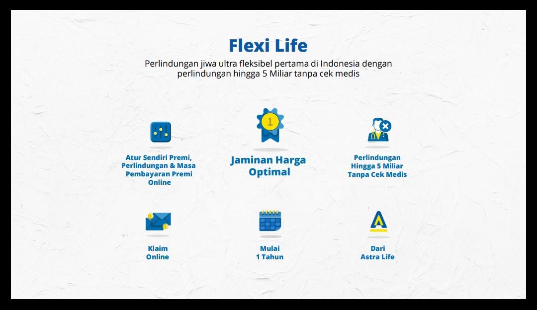 Flexi Life asuransi pilih keluarga dari Asuransi Astra