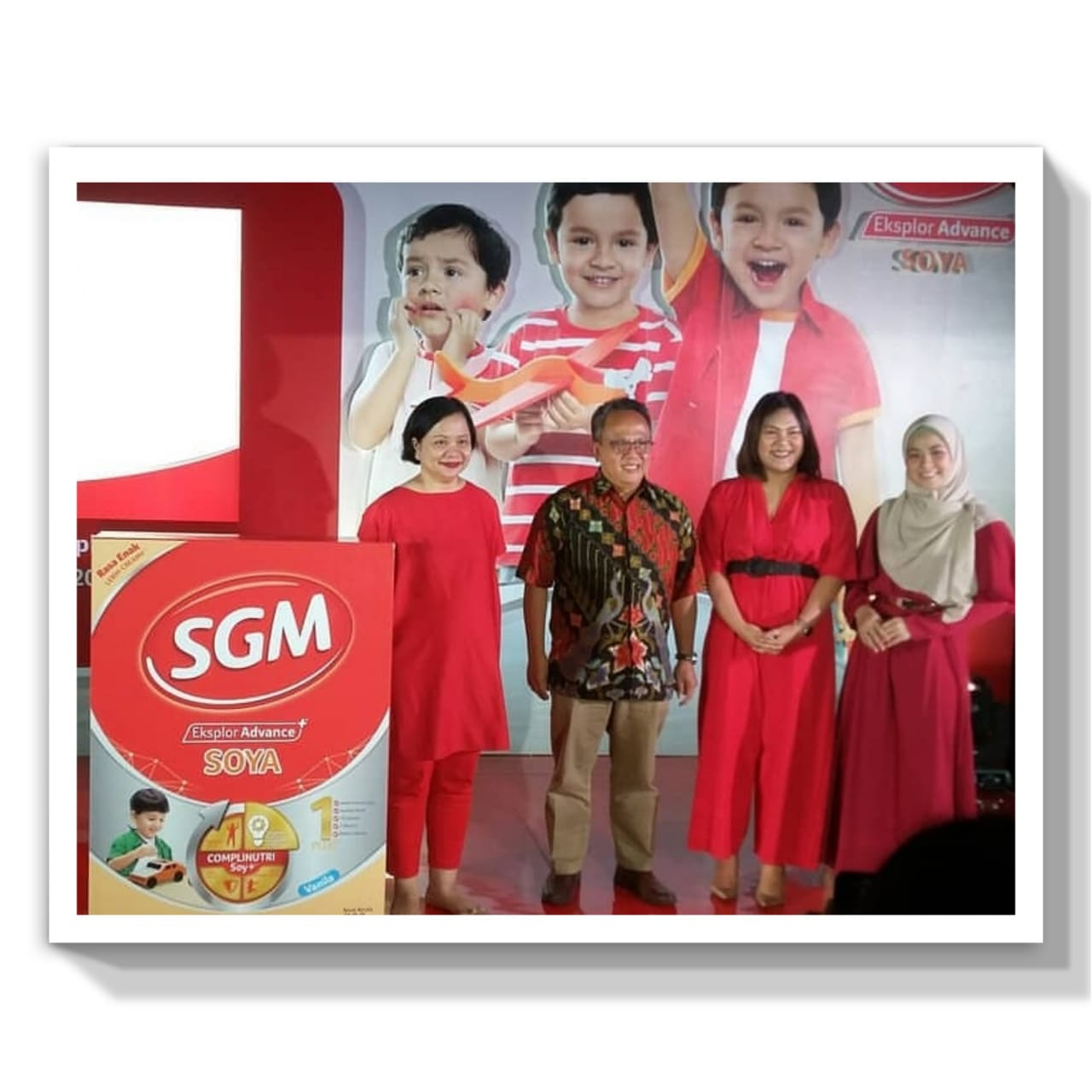 Peluncuran SGM Eksplor Advance+Soya