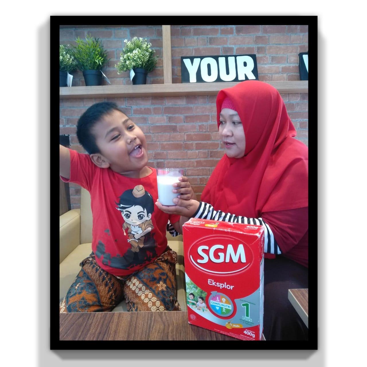 Susu pertumbuhan anak SGM Eksplor salah satu produk nutrisi dari Danone