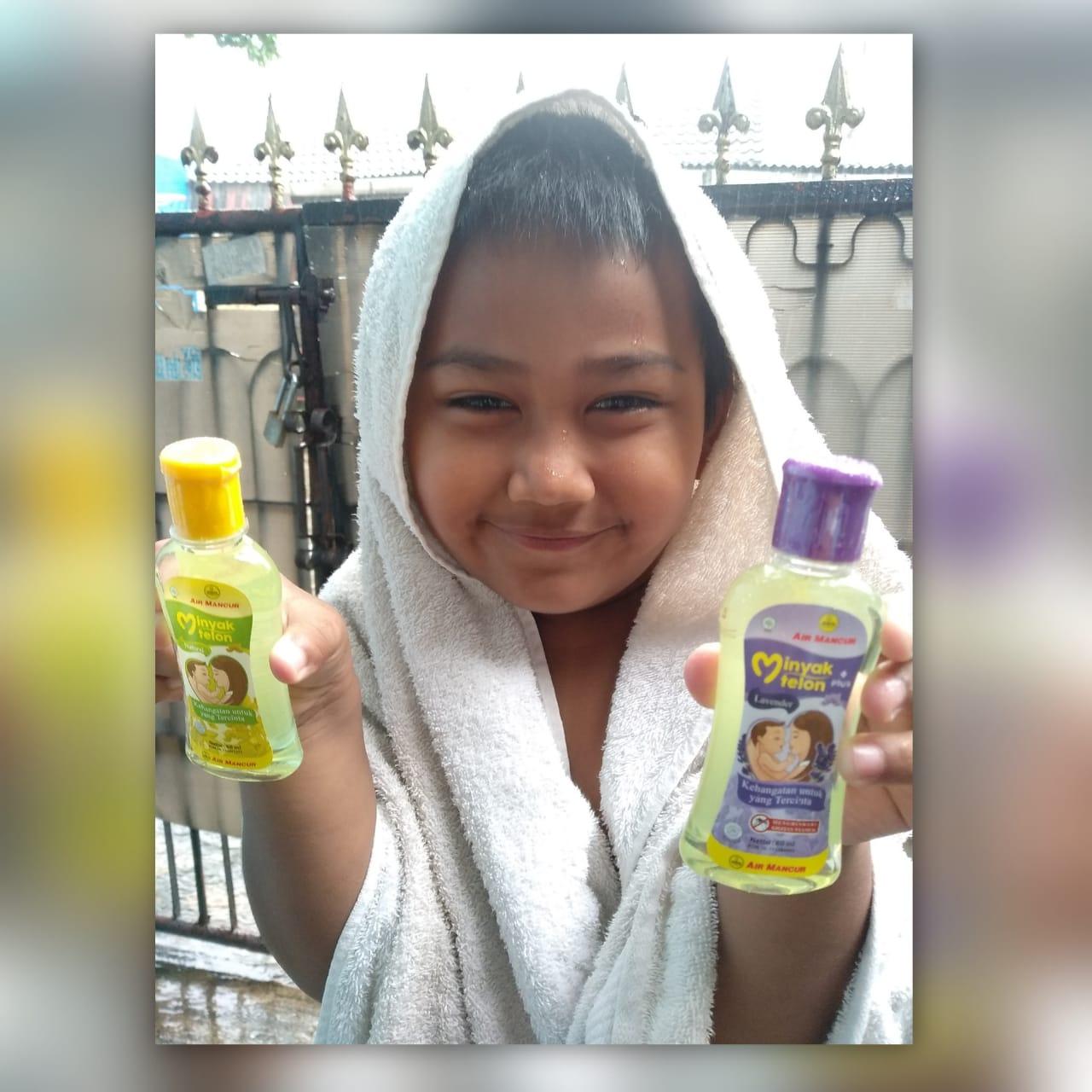 Minyak Telon Air Mancur berikan kehangatan bagi anak