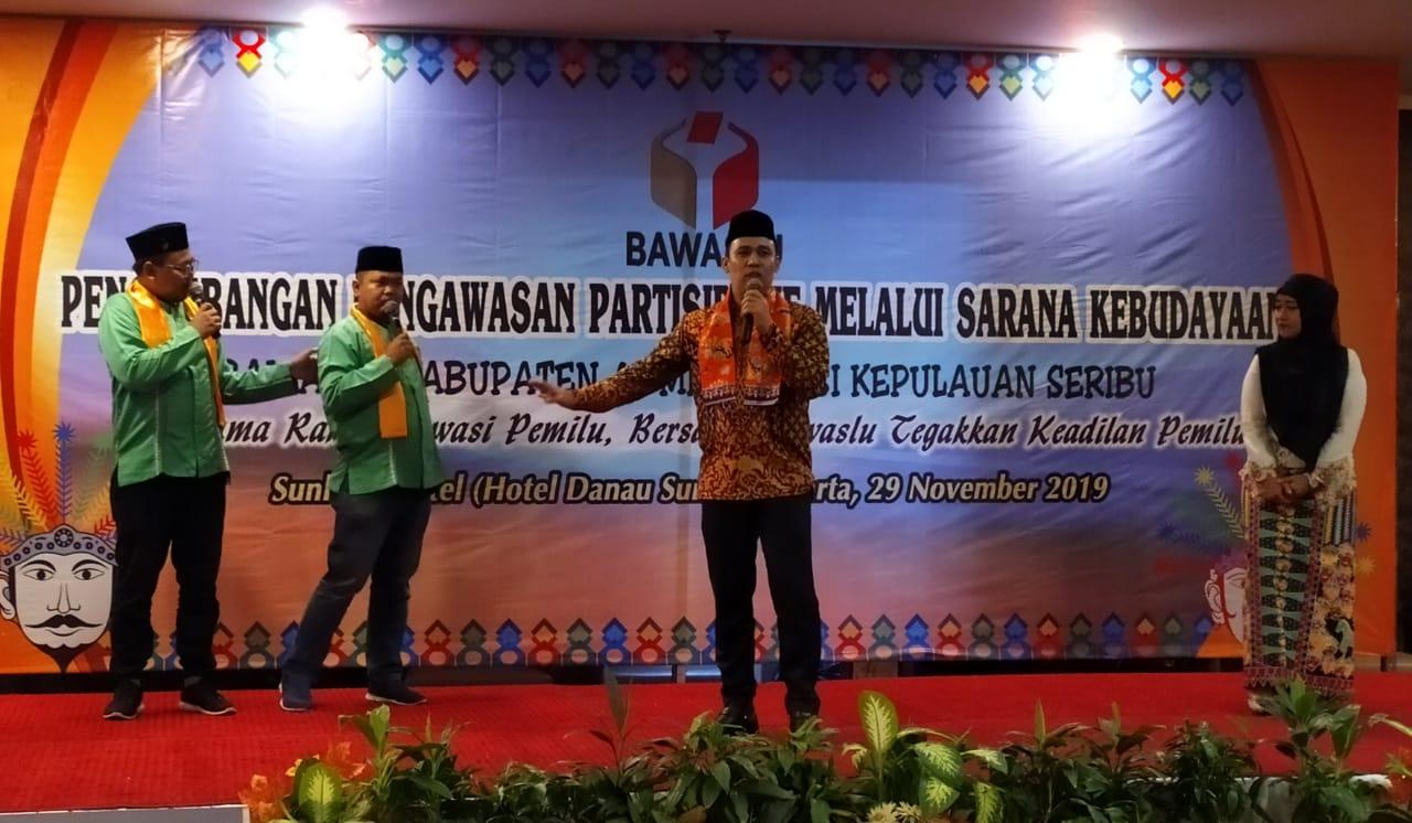 Ketua Bawaslu Kabupaten Administrasi Kepulauan Seribu, Bpk H. Syaripudin