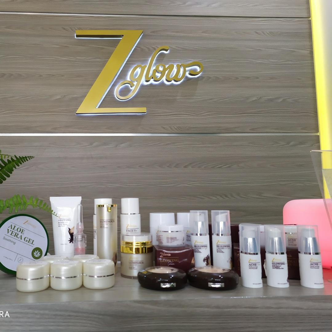 ZGlow menggunakan Obat dan Cream alami