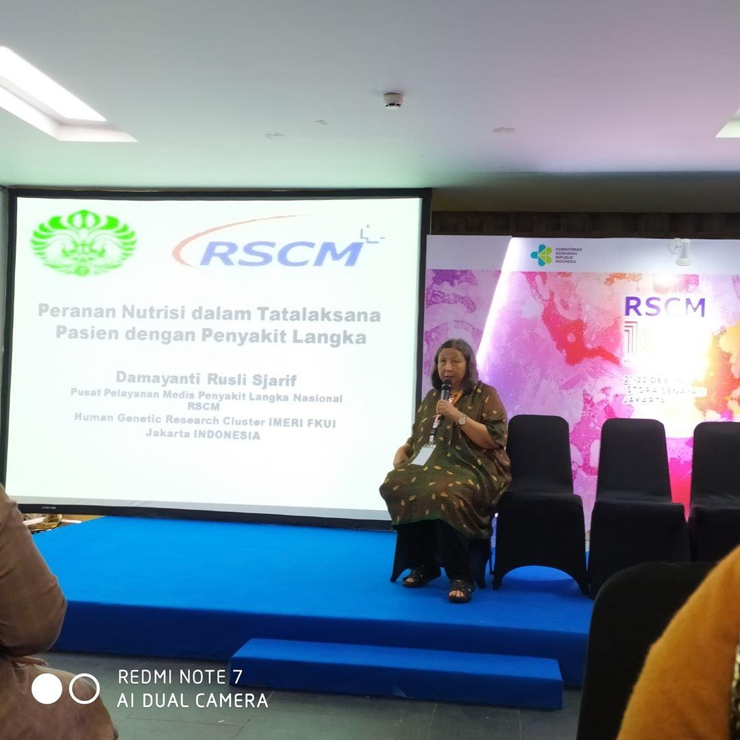 Dr. Damayanti membahas mengenai Rare Disease