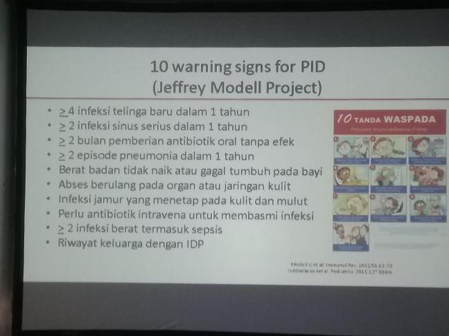 Wajib diwaspadai tanda penyakit Imunodefisiensi Primer