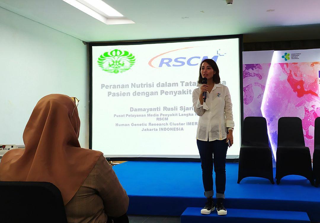 Mengenal Rare Disease bersama Ibu Penyakit Utami