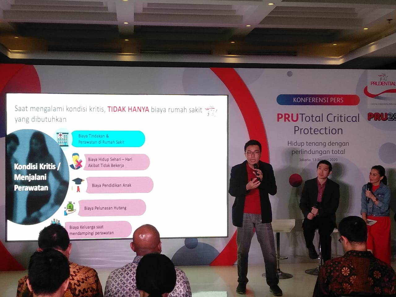 Himawan Purnama, Head of Product Development Prudential Indonesia
