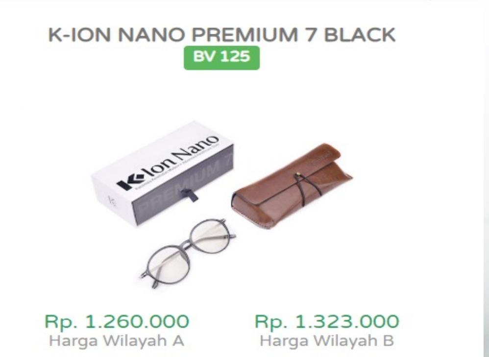 Harga Kacamata Terapi K-Ion Nano Premium 7